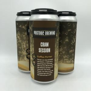 Cram Session Coffee Porter - 4pk 16oz Cans